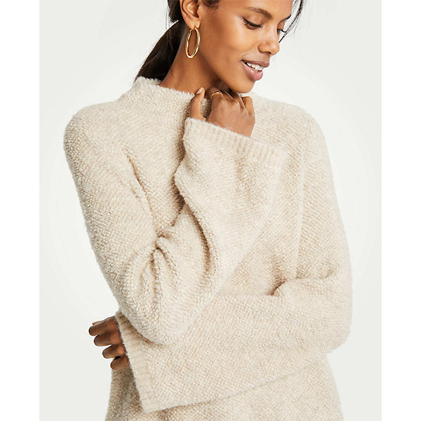 Ann Taylor<br>Boucle Sweater