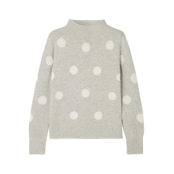 J.Crew<br>Polka Dot Sweater
