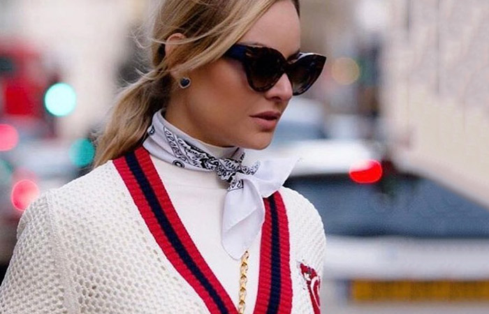 3 Ways to Wear A Scarf For Spring - In The Groove