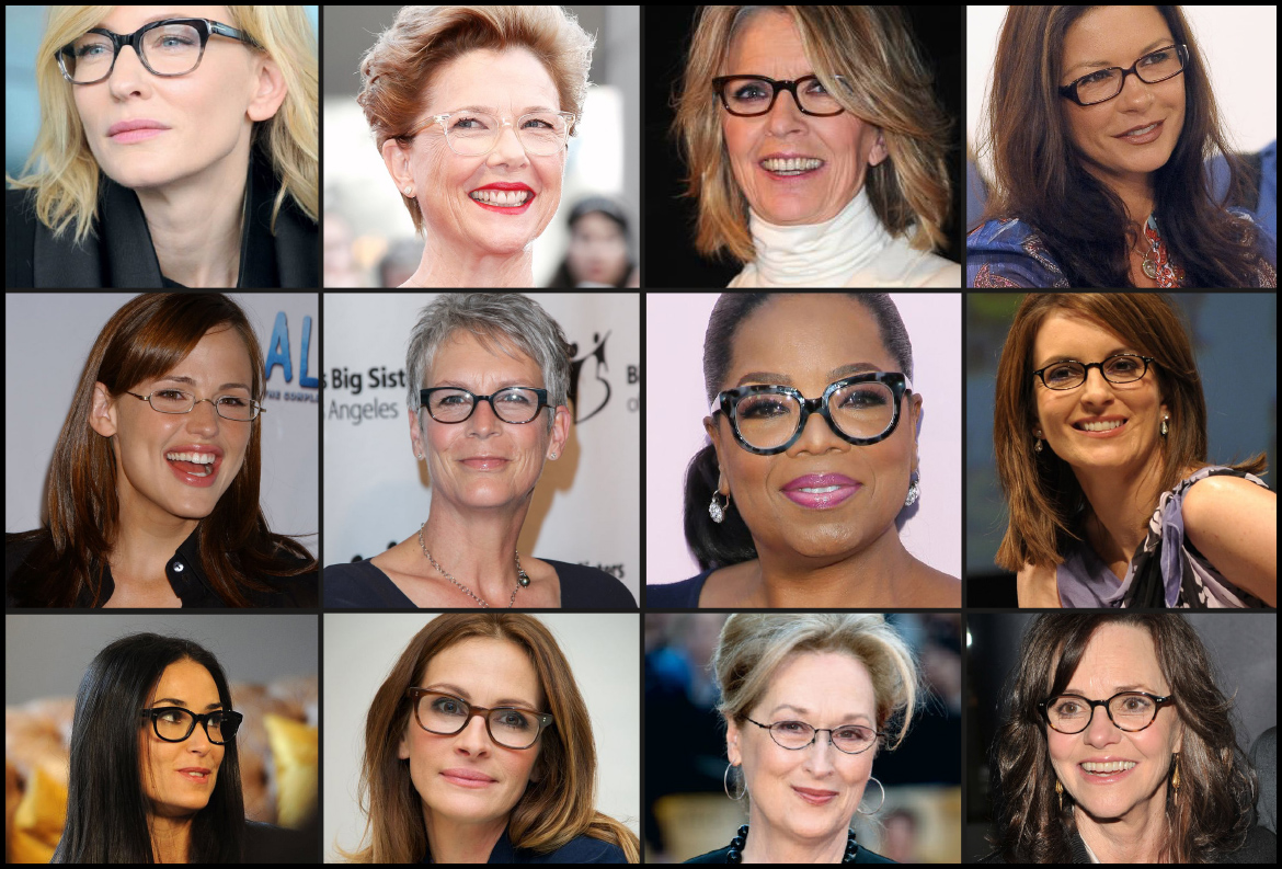 Celebrity Reading Glasses: Get The Look - In The Groove - Hair Beauty